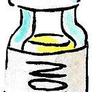 Lemon Essential Oil Sticker by pixelmist