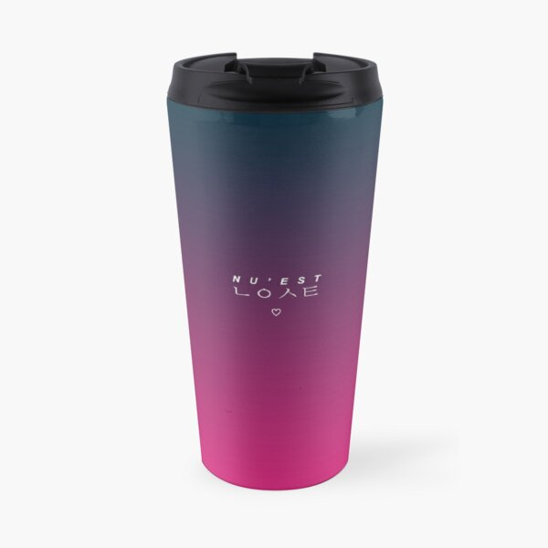 NU'EST OFFICIAL COLORS NIGHT PEARLBERRY Travel Mug