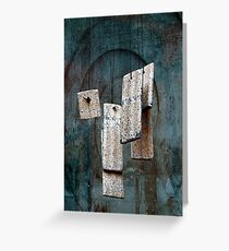 Wind Chimes Greeting Card