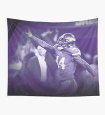 Minnesota Vikings Stefon Diggs vs Saints 2018 Wall Tapestry