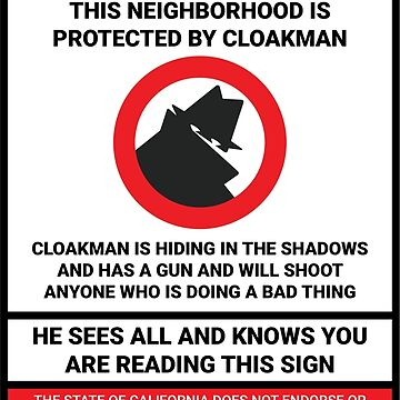 CLOAKMAN by DungeonMan