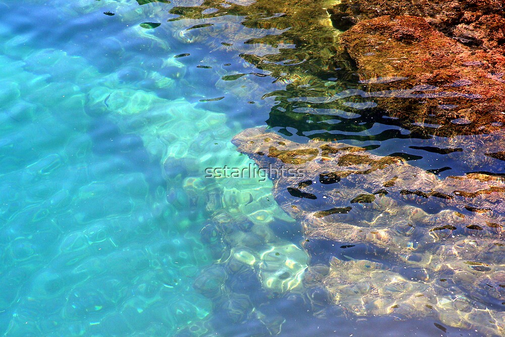 Clean Colourful Water by sstarlightss