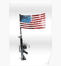 Colt AR15 Poster
