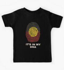 Aboriginal Basic DNA Kids T-Shirt