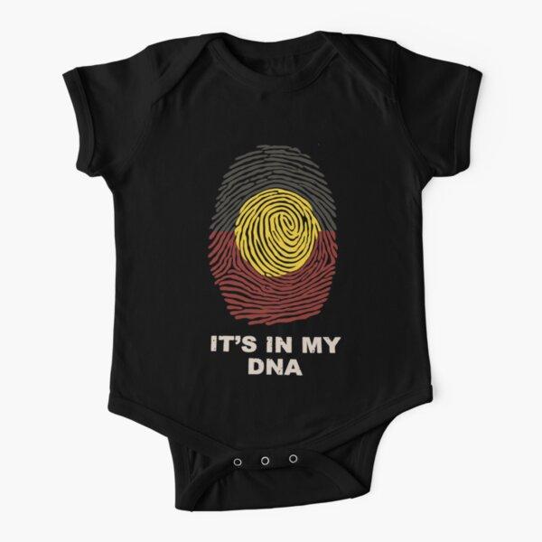 Aboriginal Basic DNA Short Sleeve Baby One-Piece