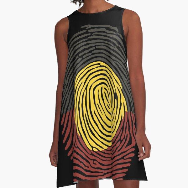 Aboriginal Basic DNA A-Line Dress