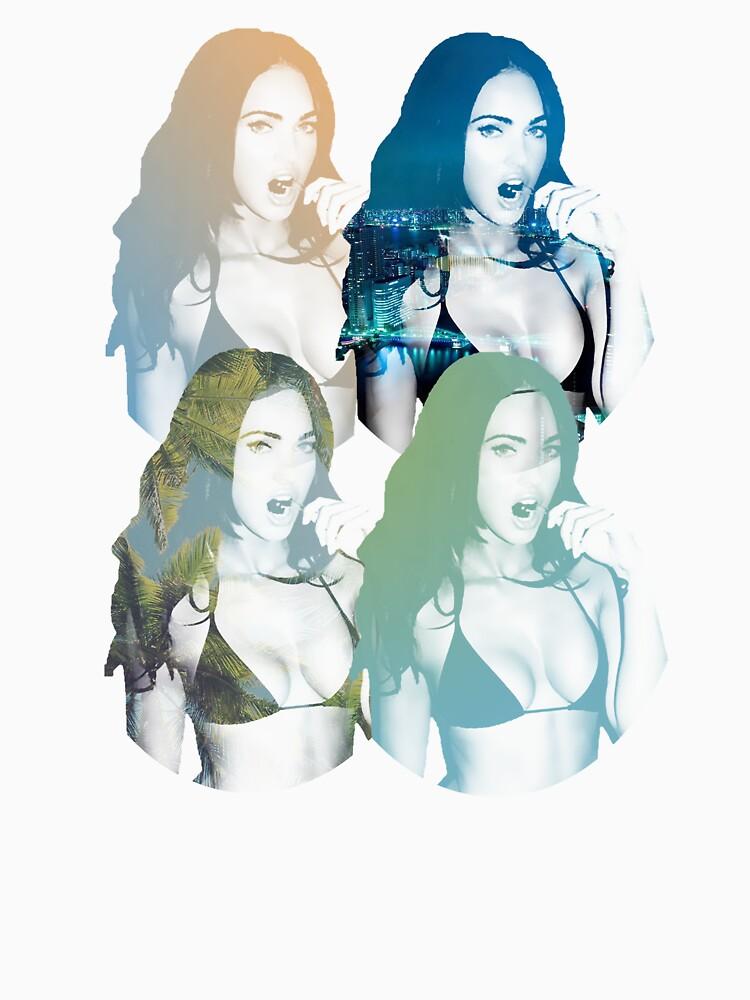 Megan Fox T-shirt by AbbyDowning