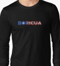 Boricua Star Long Sleeve T-Shirt
