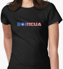 Boricua Star Women's Fitted T-Shirt
