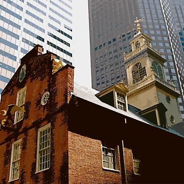 Old State House, Boston by zodezine