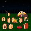 Camping night by lynnzypuff