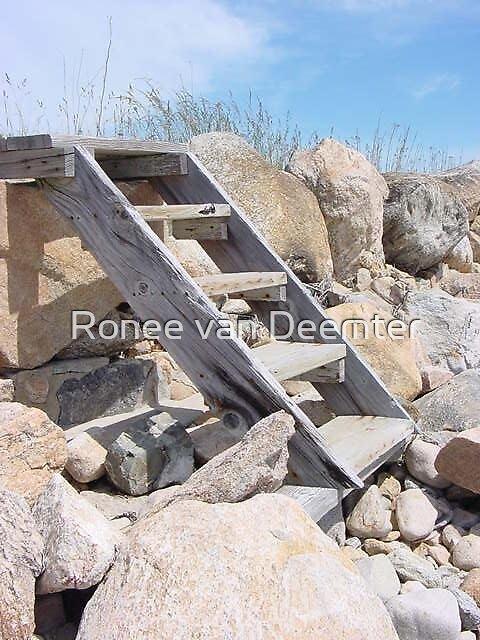 Stairway to nowhere by Ronee van Deemter