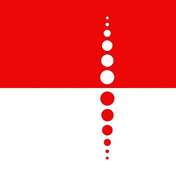 Mod Style Red and White Circles Designs by PeppermintClove