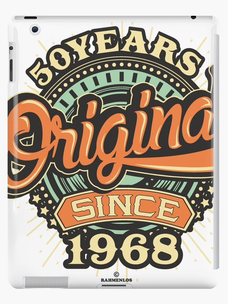 50 Years Original since 1968 - Birthday gift 50th for t-shirts cups and  many more. 404938600bd9d