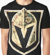 FLORALS - Golden Knights Graphic T-Shirt