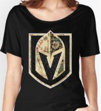 FLORALS - Golden Knights Women's Relaxed Fit T-Shirt