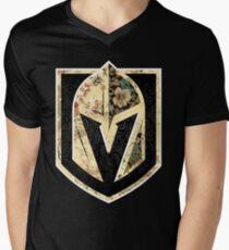 FLORALS - Golden Knights Men's V-Neck T-Shirt