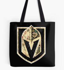 FLORALS - Golden Knights Tote Bag