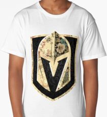 FLORALS - Golden Knights Long T-Shirt