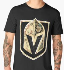 FLORALS - Golden Knights Men's Premium T-Shirt