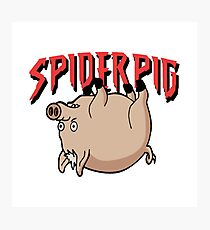 Spider Pig Photographic Print