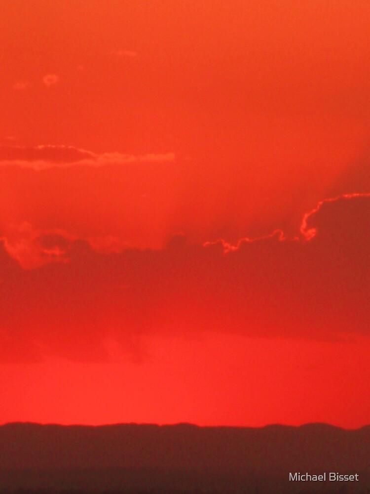 sunset 3 - sydney , north sydney  by Michael Bisset