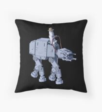 Outlaw from a Frozen Land Throw Pillow