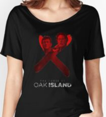 the curse of oak island  Women's Relaxed Fit T-Shirt