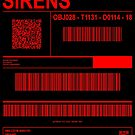 SIRENS (LABEL - RED TEXT) by bearra