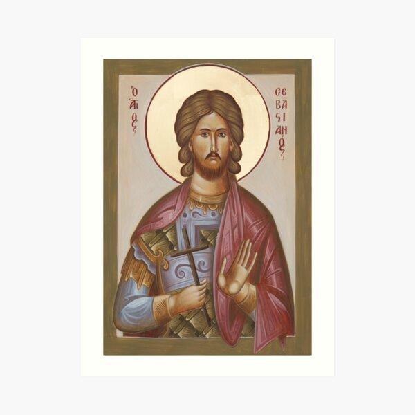 St Sebastian Art Print
