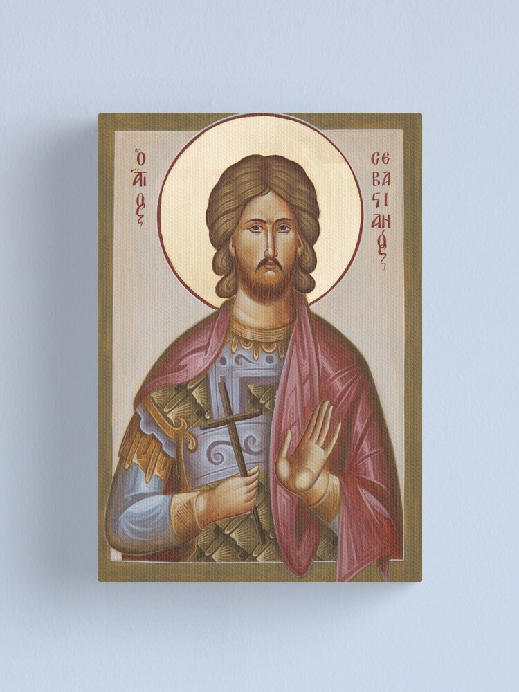 Alternate view of St Sebastian Canvas Print