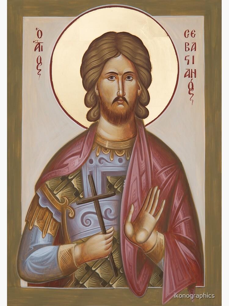 St Sebastian by ikonographics