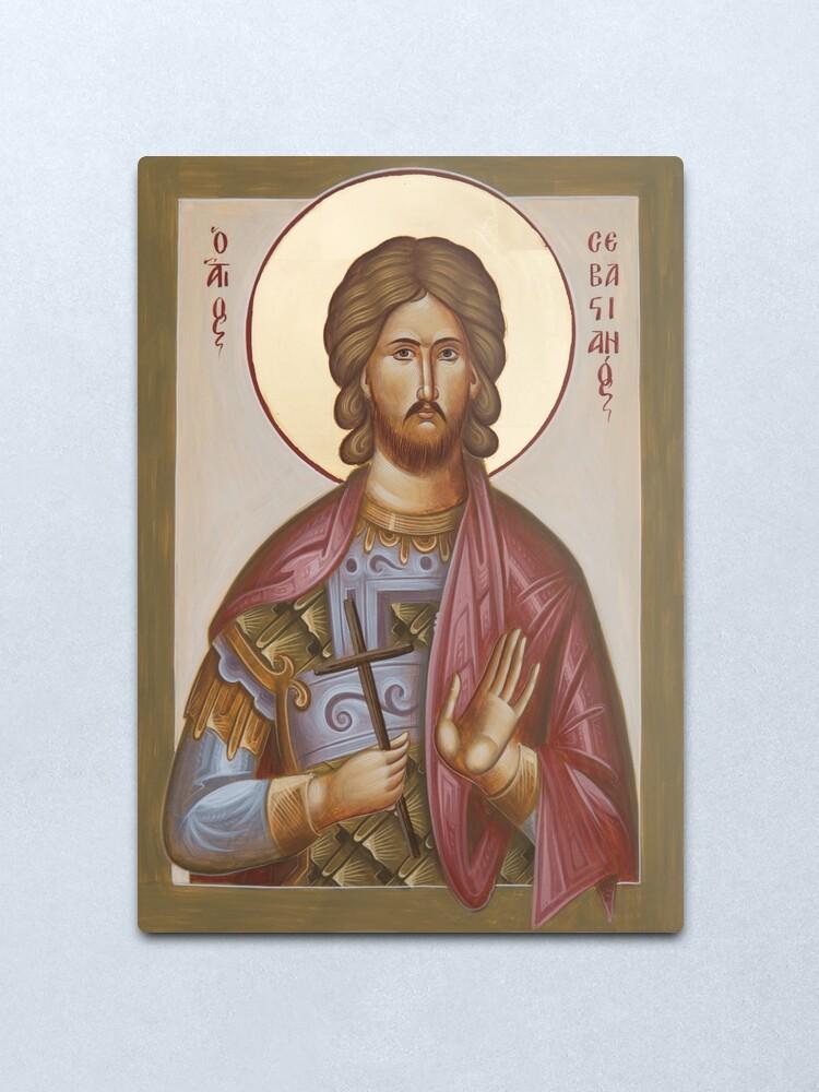 Alternate view of St Sebastian Metal Print