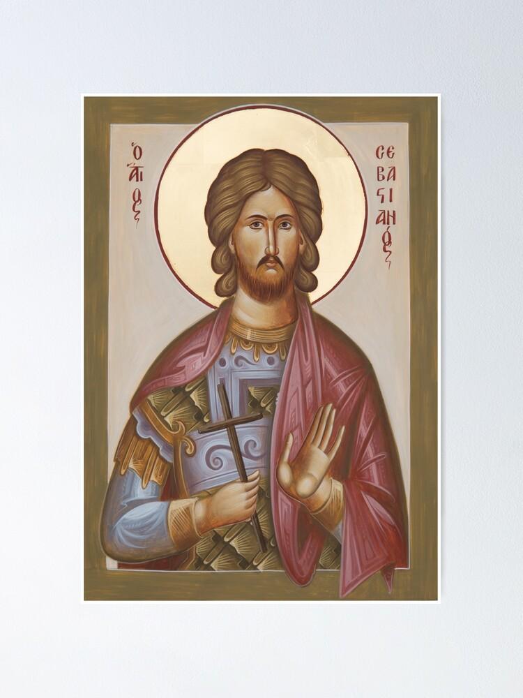 Alternate view of St Sebastian Poster