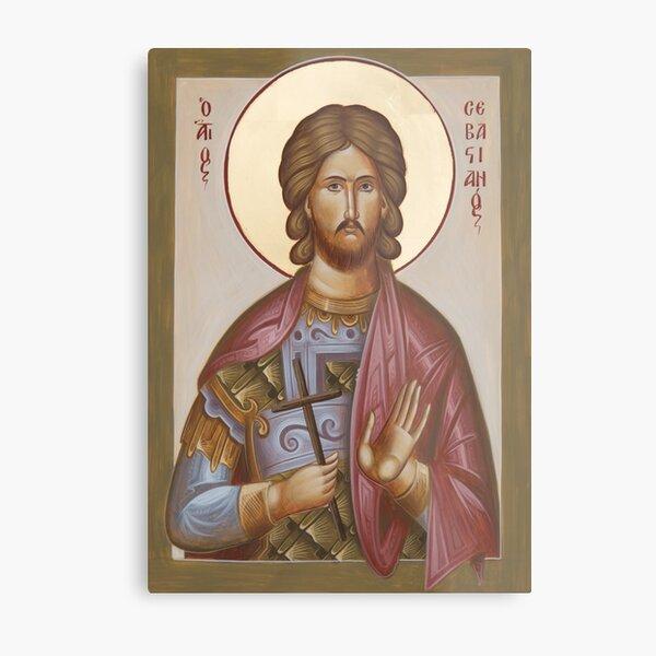 St Sebastian Metal Print