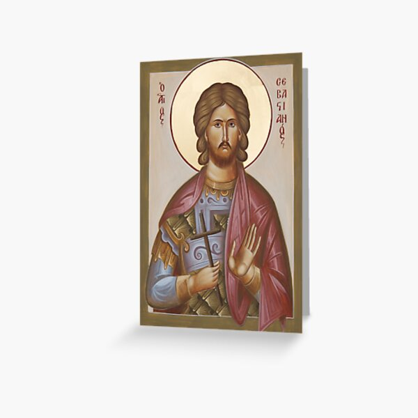 St Sebastian Greeting Card