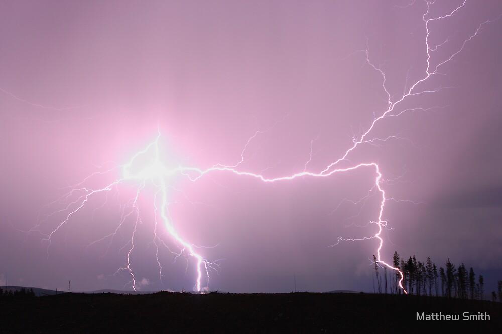 Lightning - Oberon NSW by Matthew Smith