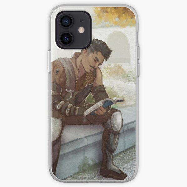 Skyhold Studying iPhone Soft Case