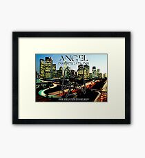 Angel Investigations Framed Print