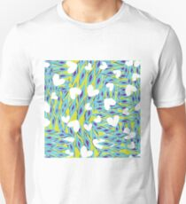love and diamonds coastal chill pattern design Unisex T-Shirt