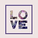 Succulent Uv LOVE #redbubble #love #ultraviolet by designdn