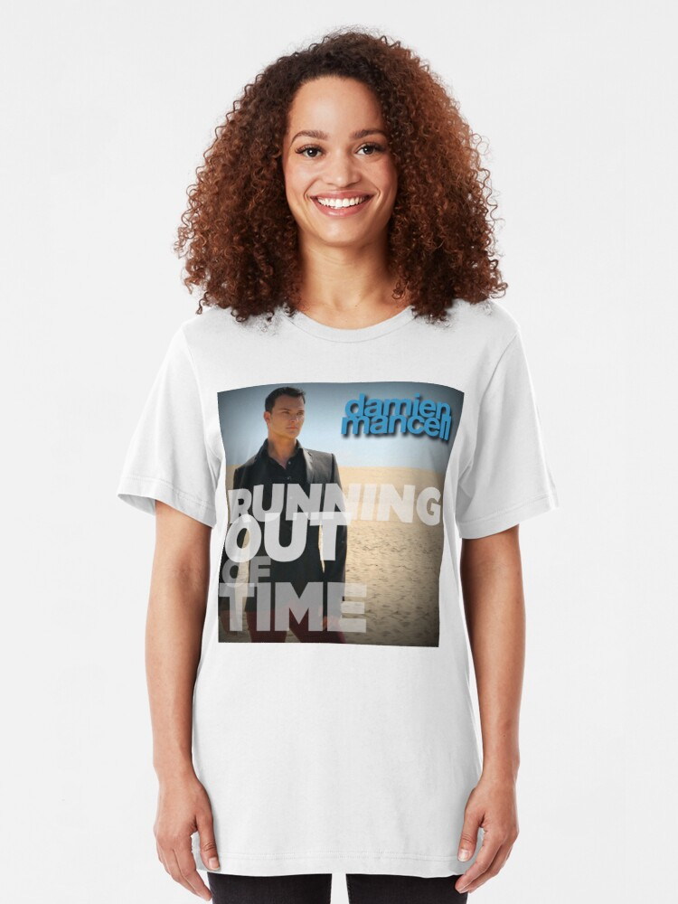 Alternate view of Running Out Of Time -Tshirt Slim Fit T-Shirt