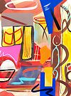 Abstract Interior #44 by Lisa V Robinson