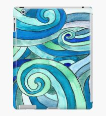 Watercolour waves Vinilo o funda para iPad