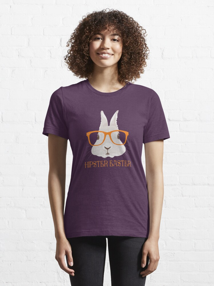 Alternate view of Hipster Easter Essential T-Shirt