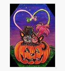 Trolls Halloween  Photographic Print