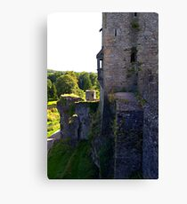 From the battlements Canvas Print