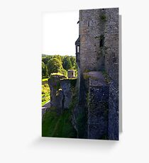 From the battlements Greeting Card