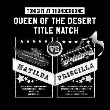 Matilda vs. Priscilla by JcDent