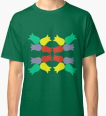 Colored tulips. Classic T-Shirt